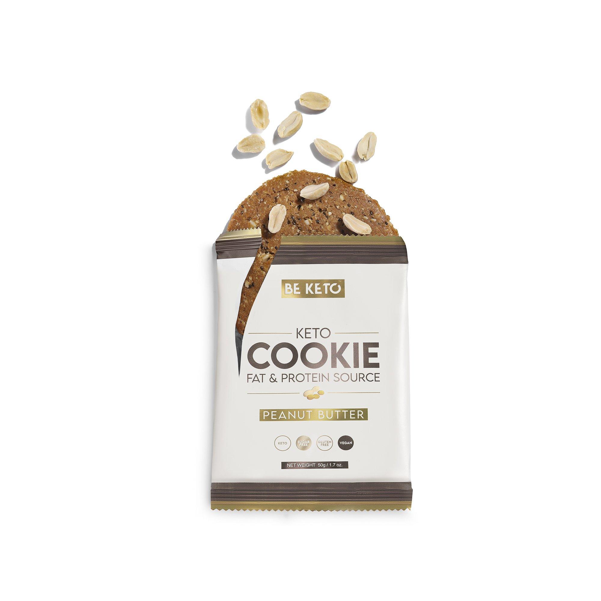 Keto Cookies Peanutbutter 50G