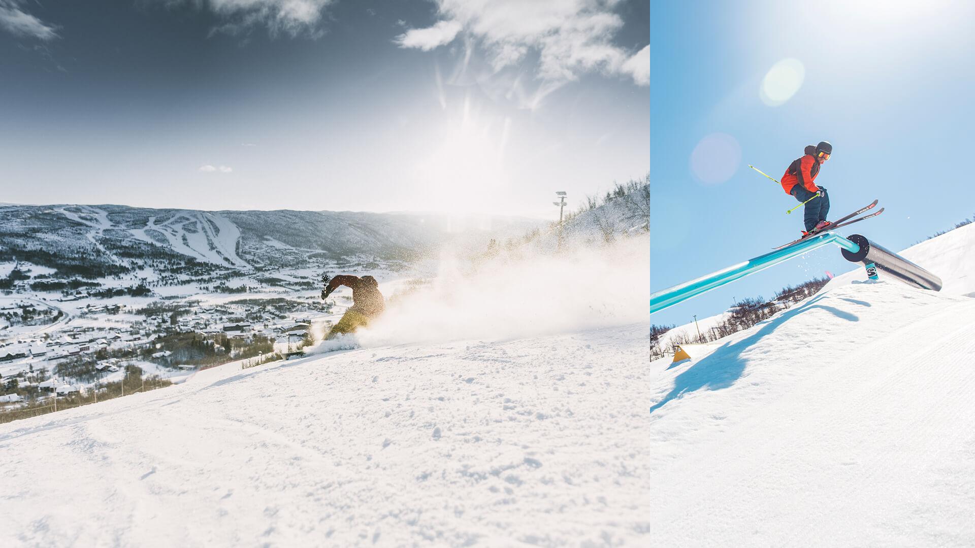 Yvi Kikut vinteraktivitet - Alpint på Geilo