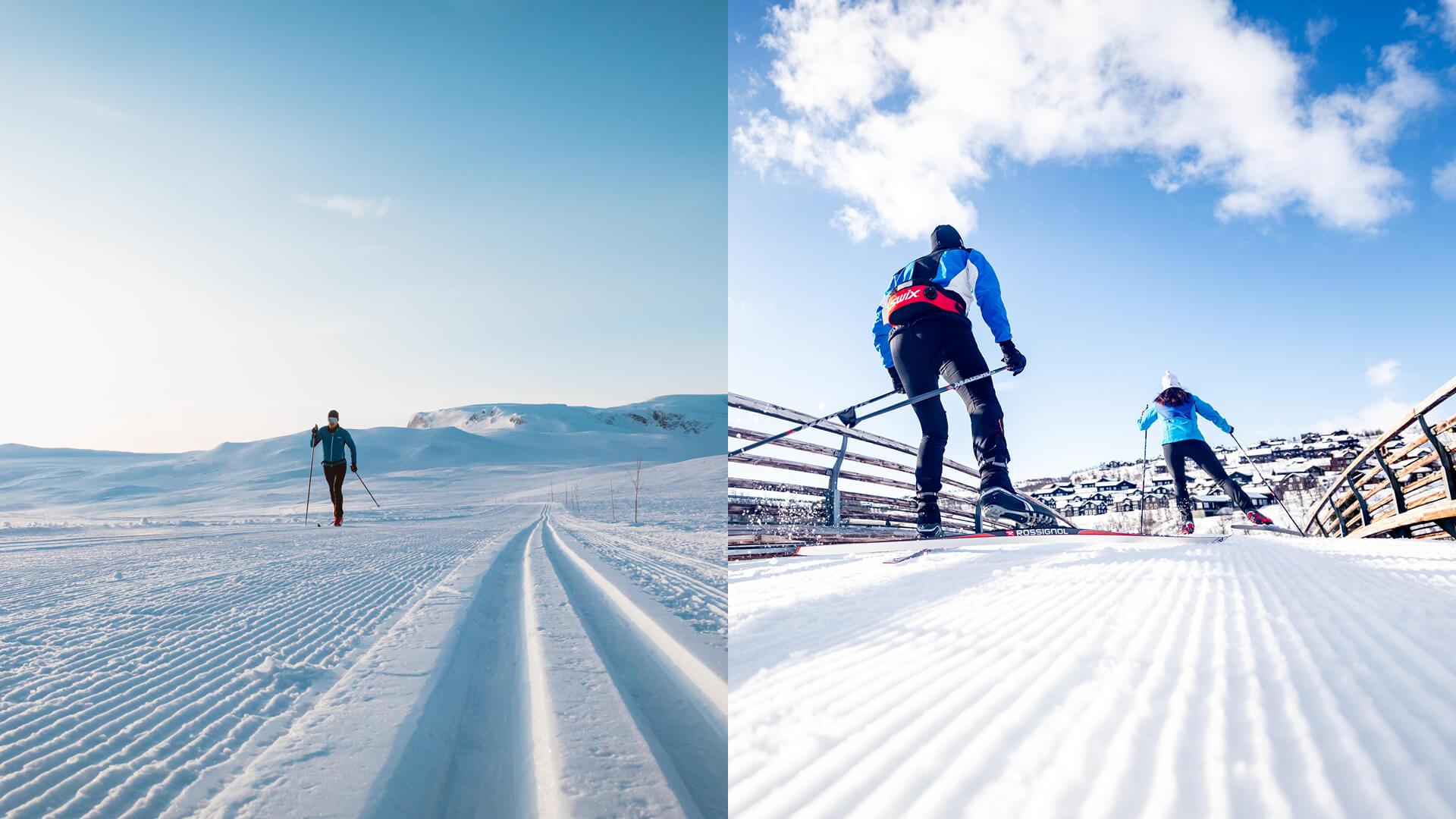 Yvi Kikut vinteraktivitet - Langrenn på Geilo