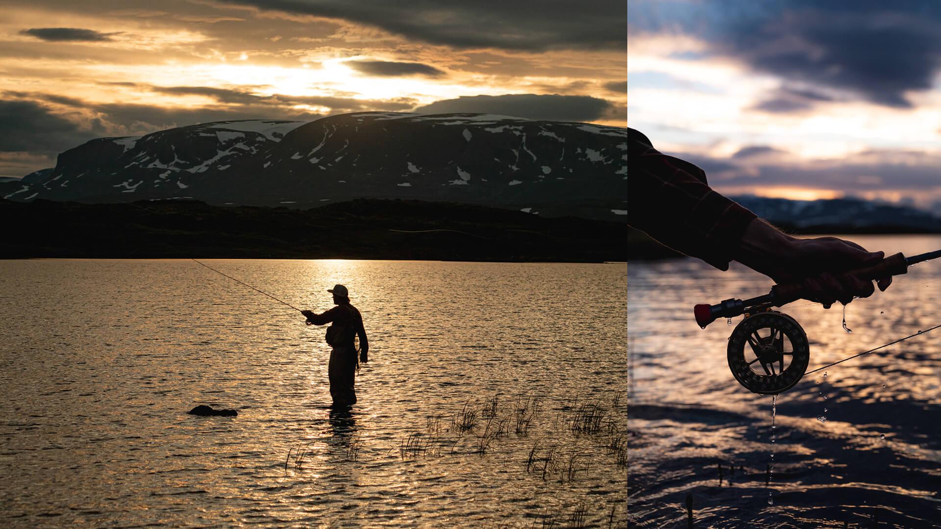Yvi Kikut sommeraktivitet - Fiske på Geilo