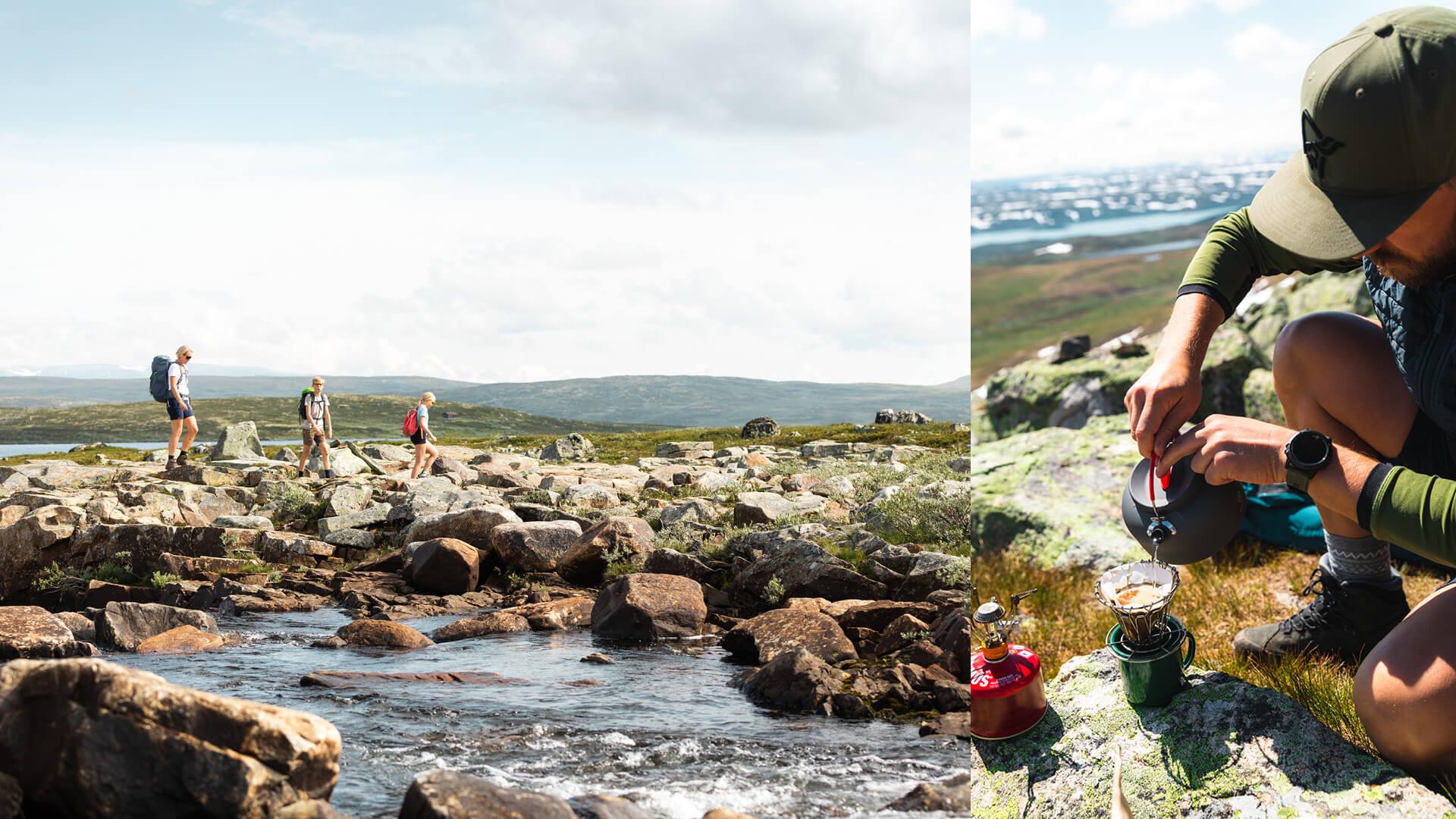 Yvi Kikut sommeraktivitet - Fjelltur på Geilo