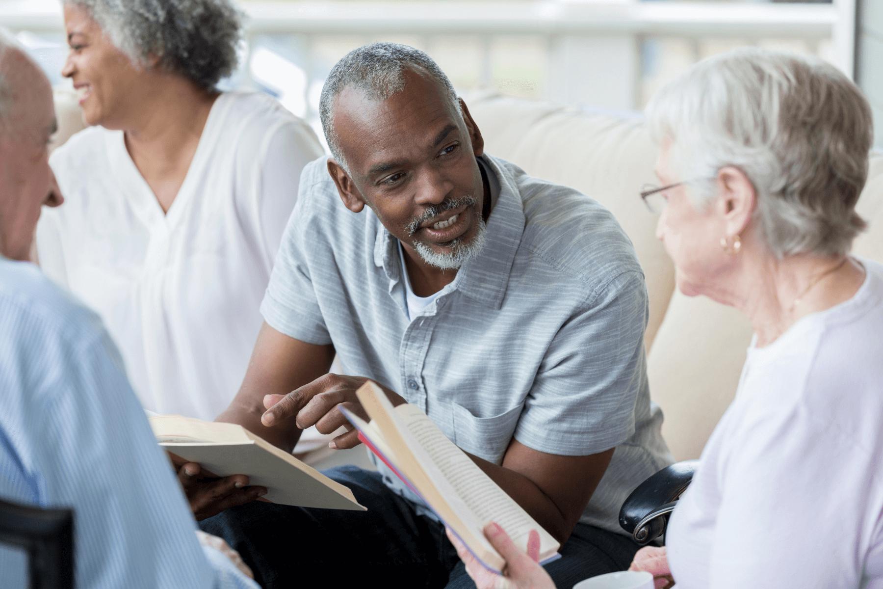 Should You Start a Senior Book Club?
