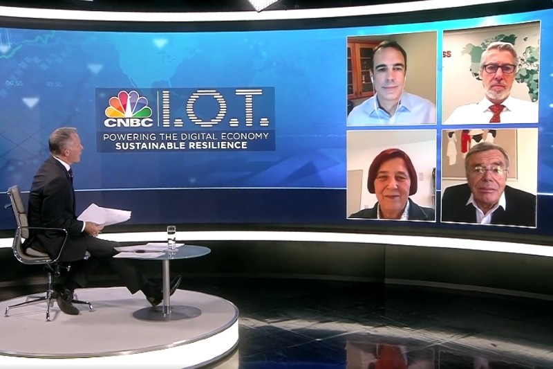 Harvey Nash Group CEO takes part in CNBC panel discussion - Building resilience during the Crisis