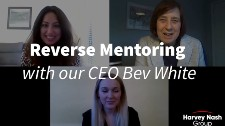 Reverse Mentoring with our CEO Bev White