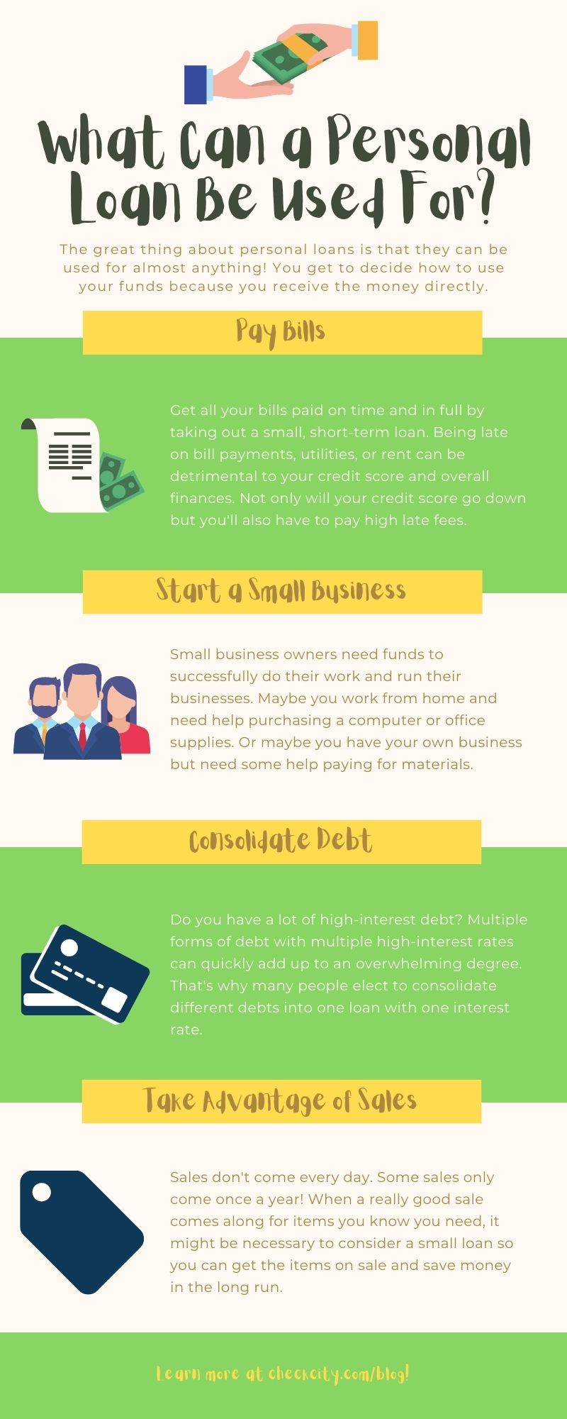 Personal Loan Infographic