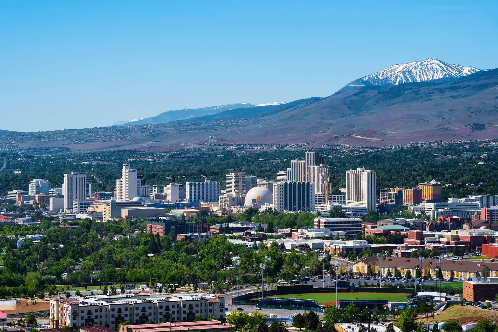 Reno City Nevada