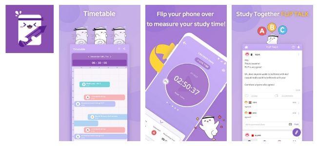 Flip App Interface