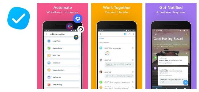 MeisterTask App Interface