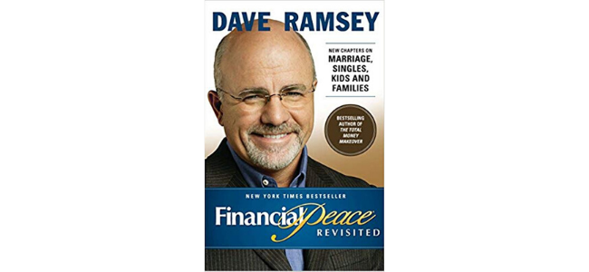 """Image of Dave Ramsey's """"Financial Peace"""" book"""