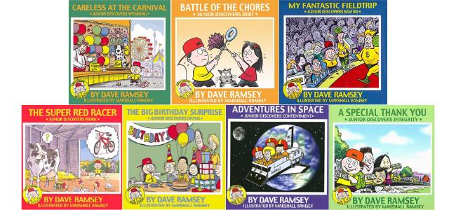 Children's books by Dave Ramsey