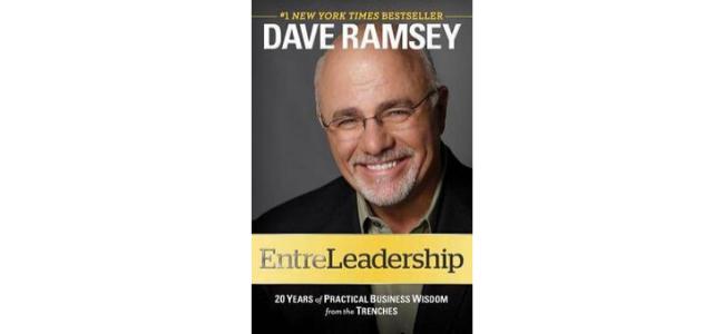 "Image of Dave Ramsey's ""EntreLeadership"" book"