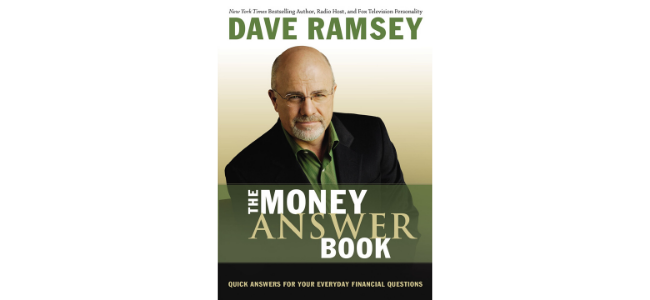 """Image of Dave Ramsey's """"Money Answer"""" Book"""