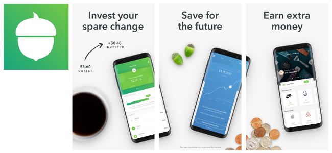 Acorn Investment App Images