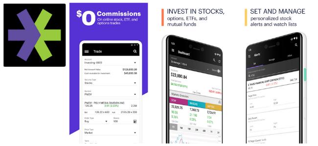 E Trade App Images