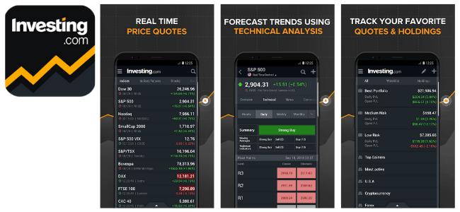 Investing.com App Images