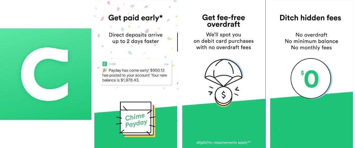 Chime Money Transfer App Images