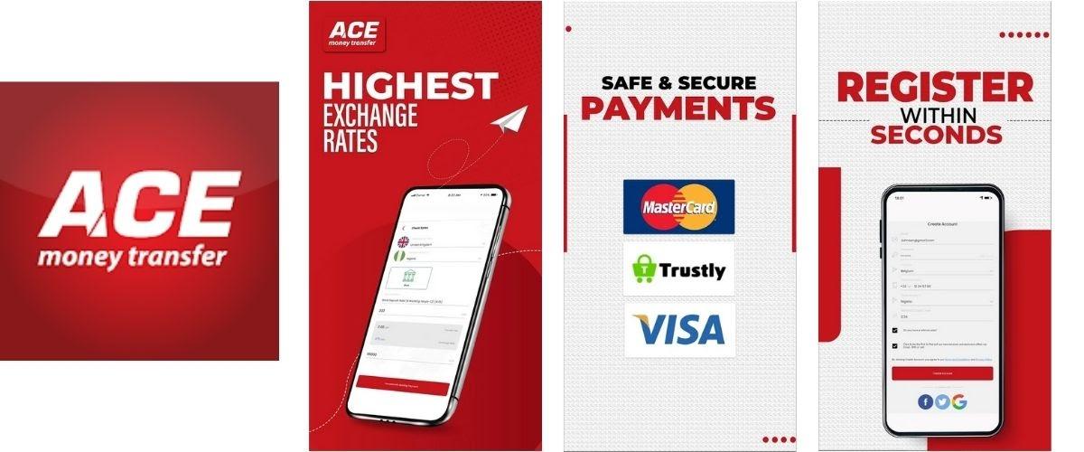 ACE Money Transfer App Images