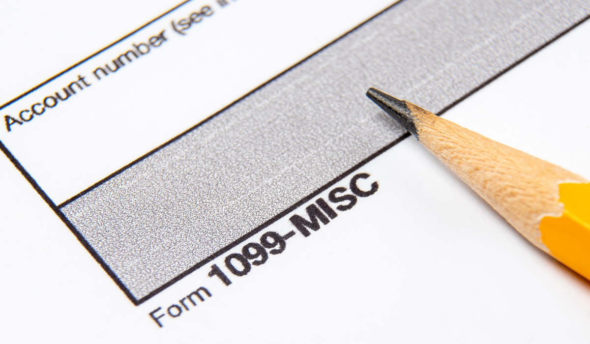 Independent Contractor Tax form 1099
