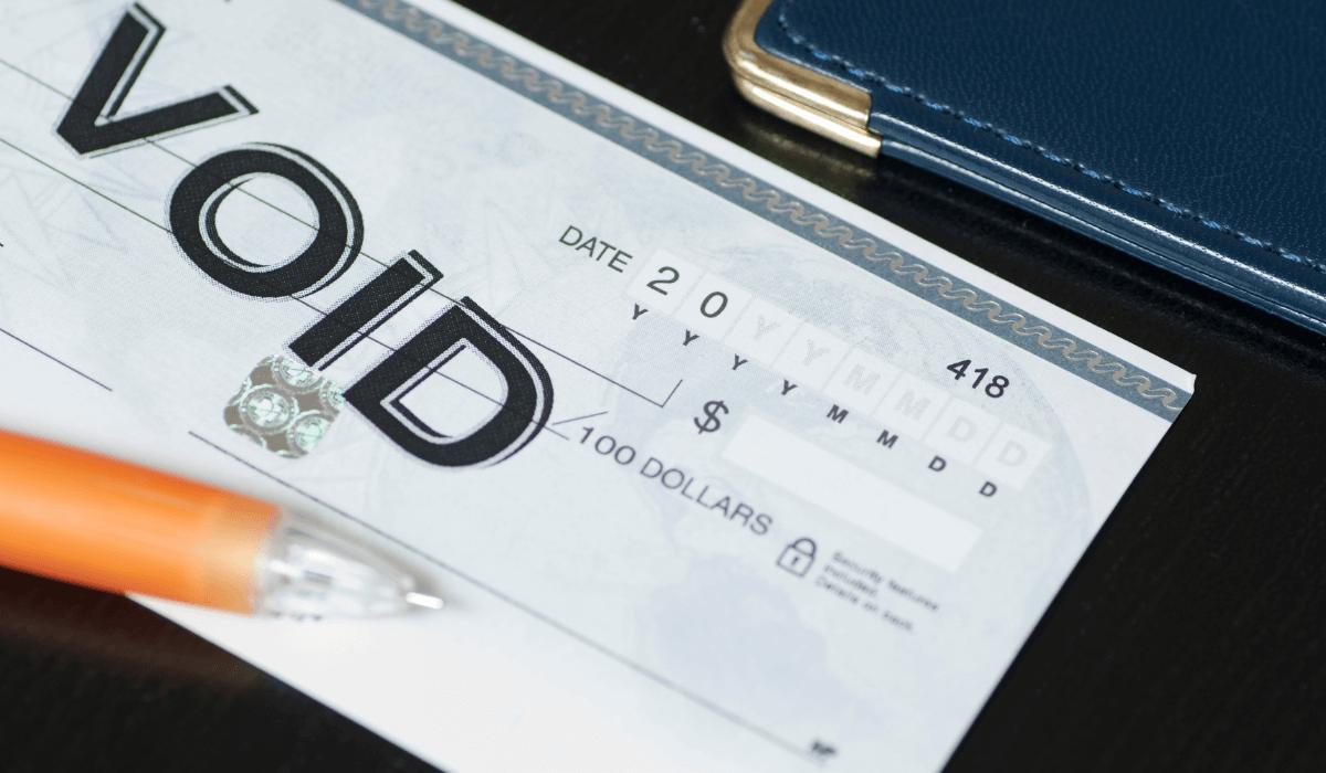 written check