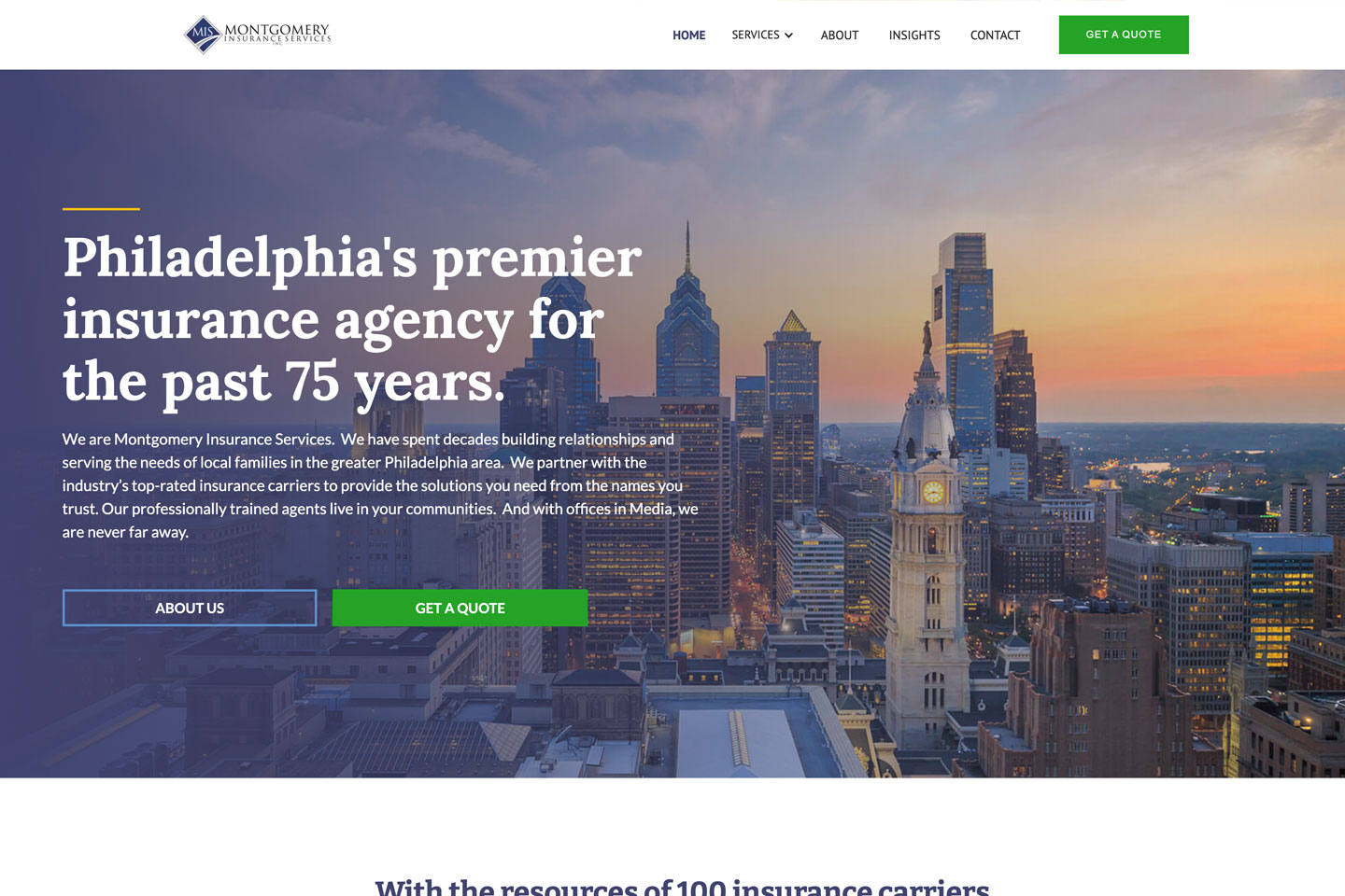 Reveals Innovative Virtual Insurance Office and Internet Marketing Campaign