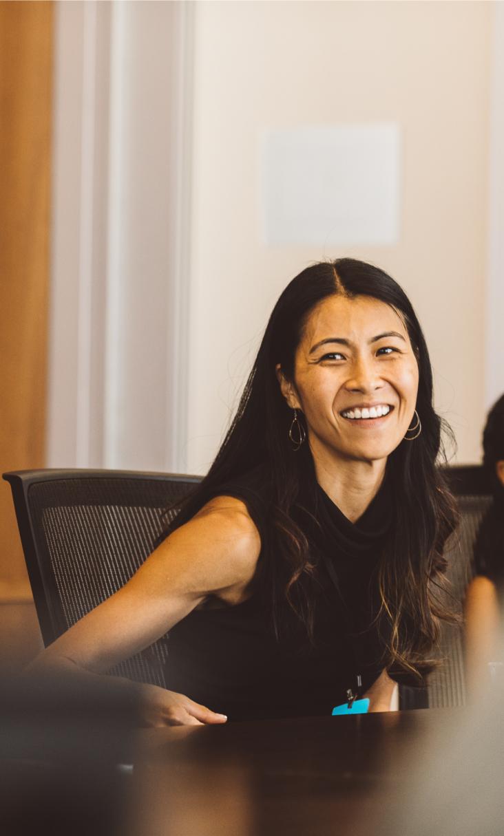 Portrait of Jessica Kim, a Praxis mentor