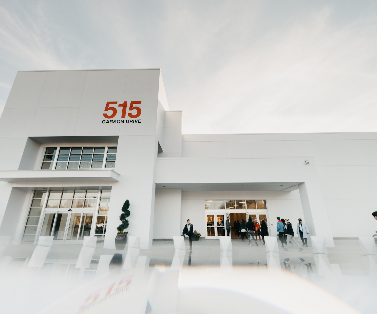 Exterior shot of one of the Passion City Church locations.