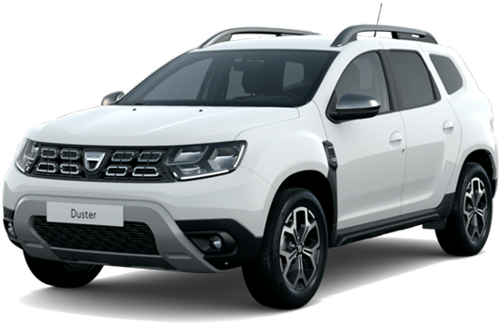 Dacia duster color: glacier white