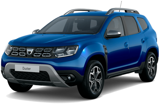 Dacia duster color: blue iron