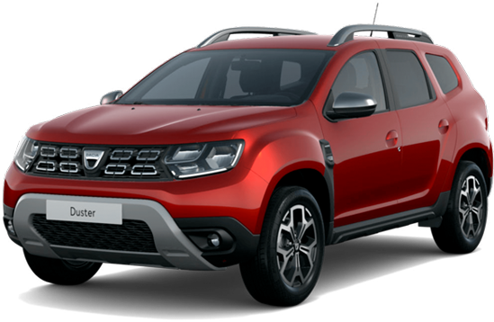 Dacia duster color: red fusion