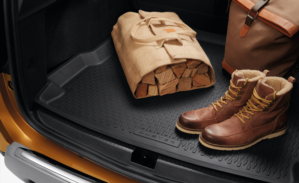 Protection mat for Dacia Duster trunk