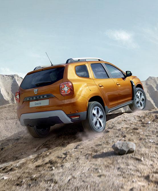 Dacia Duster hillclimbing