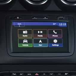 Media nav evolution nav system with 4WD-info
