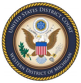 Us district court western michigan logo