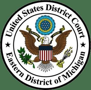 US District of michigan logo