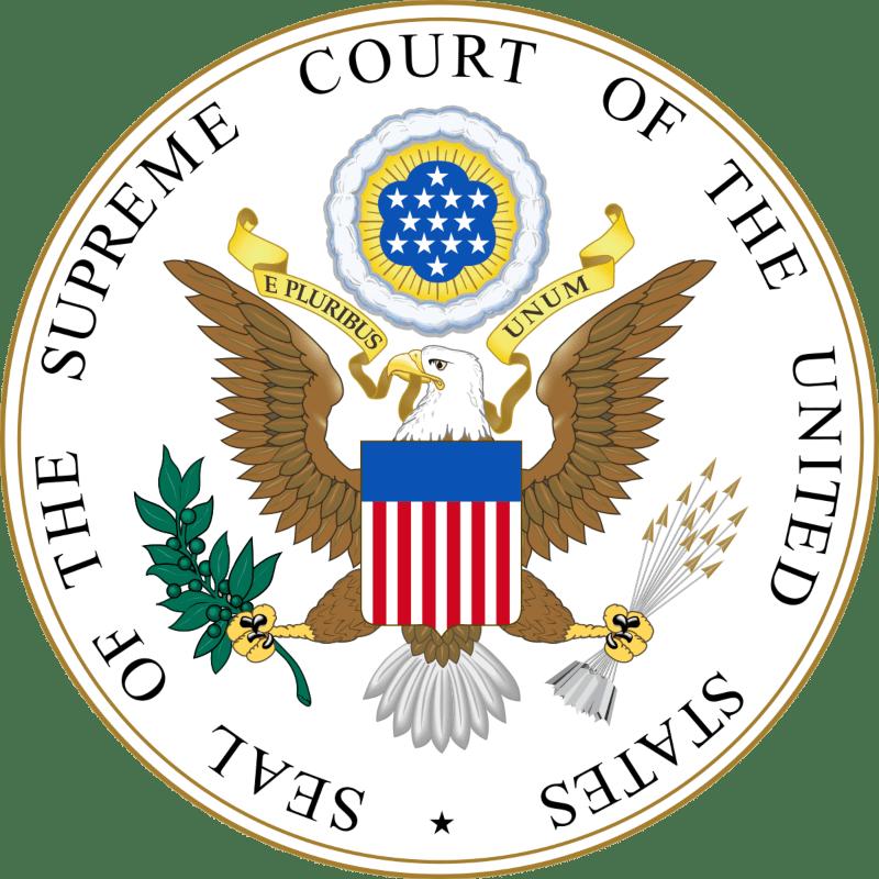 US State supreme court logo