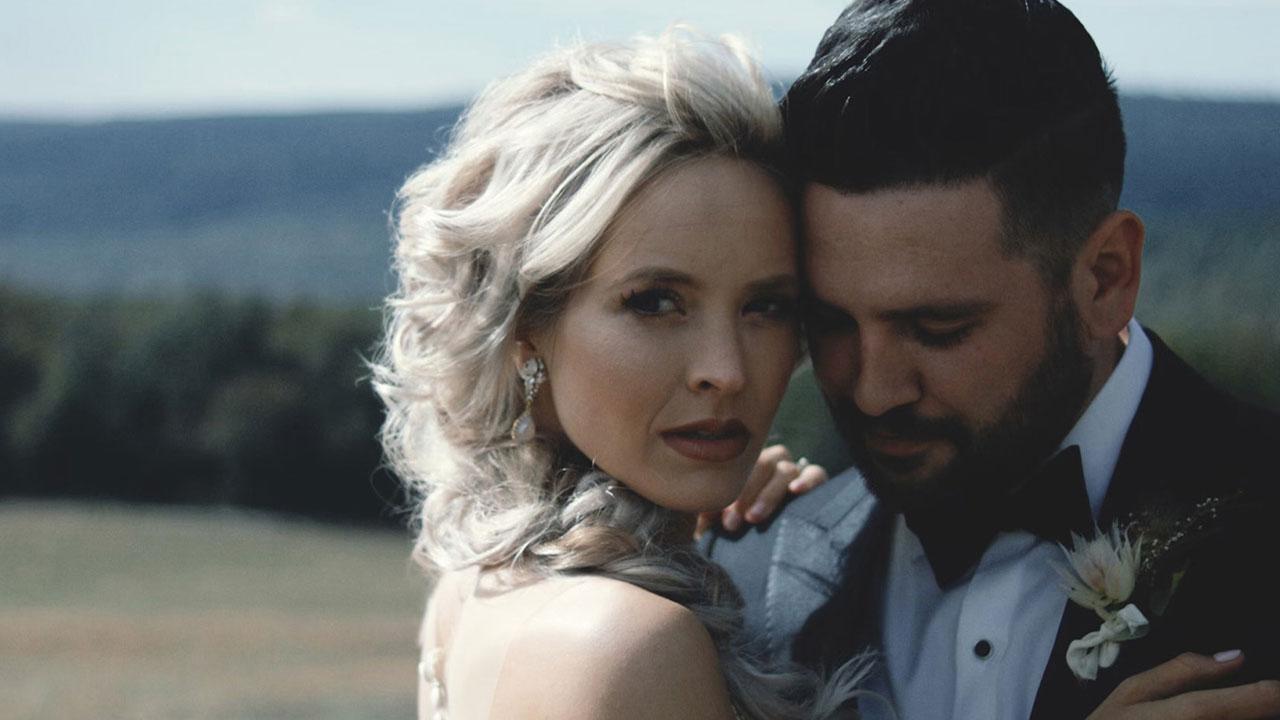 Anchor Heart Films, Asheville NC, wedding of Hannah & Shay, film still.