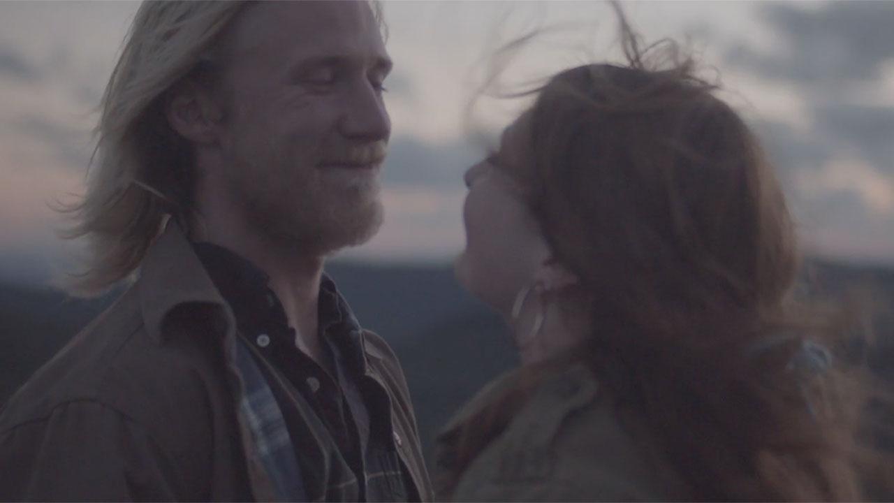 Anchor Heart Films of Asheville NC, wedding of Hannah & Dave, film still.