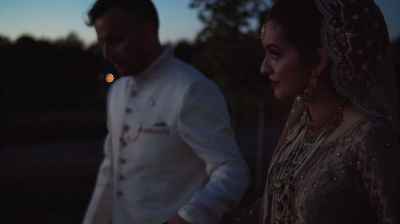Anchor Heart Films, Asheville NC, wedding of Ramla & Mohsin, film still.