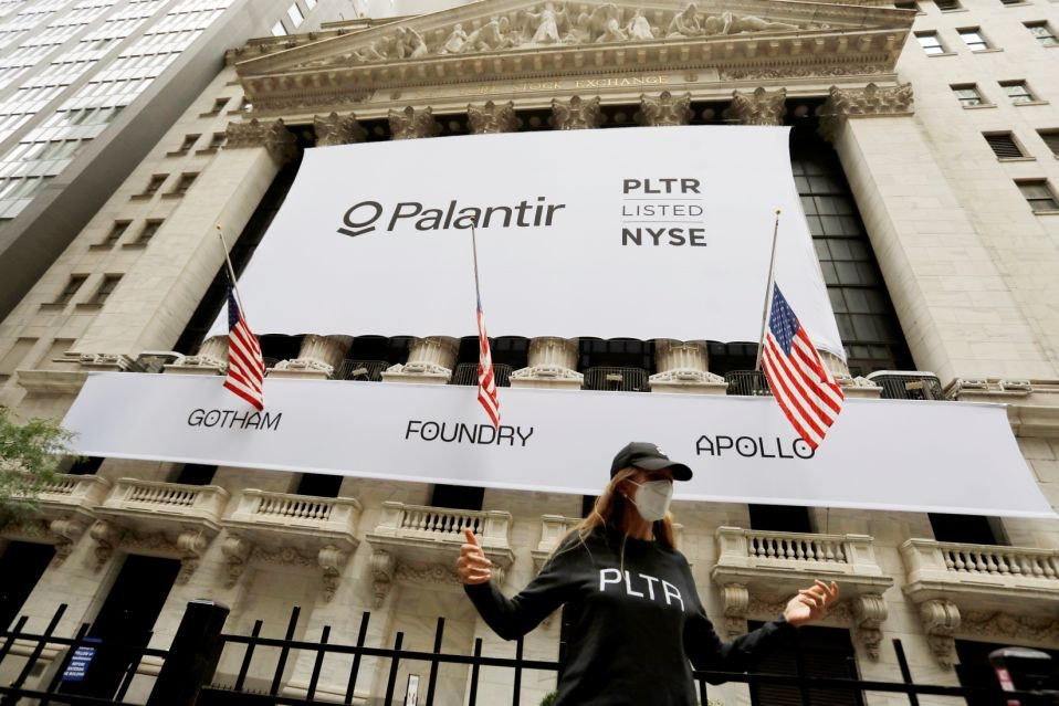 Image result for palantir stock
