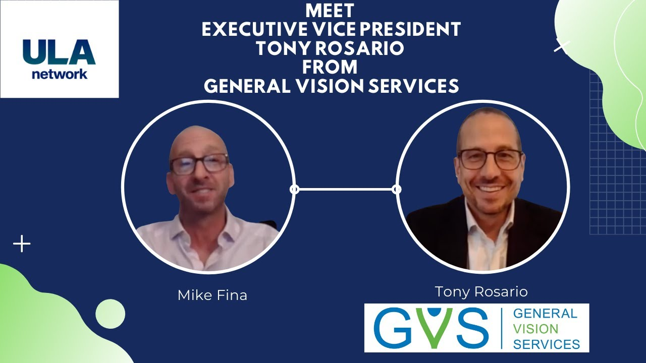 Meet Executive Vice President Tony Rosario From General Vision Services