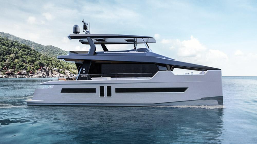 ALVA 60 solar yacht