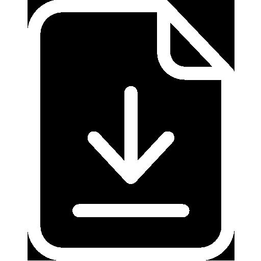 icone de téléchargement de brochure