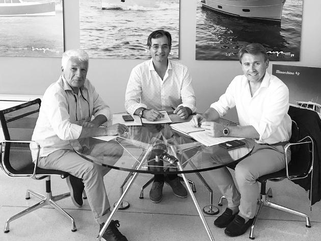 Equipe de Dantes Yachts