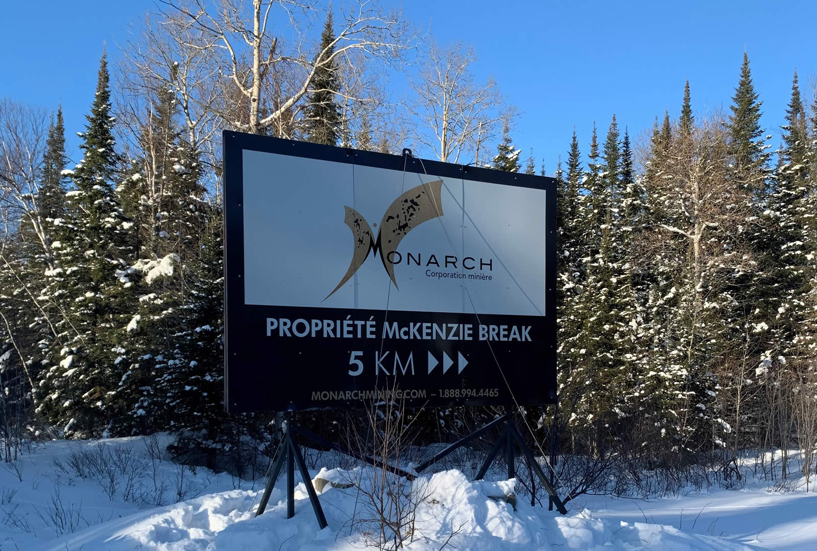 Monarch Mining Reports A Significant Resource Increase At Its Mckenzie Break Property
