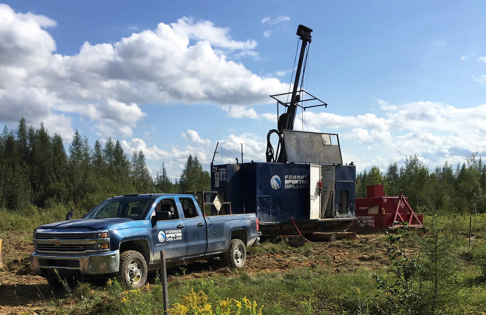Monarch Mining Intersects Significant Gold Mineralization 1 Km South Of The Mckenzie Break Deposit