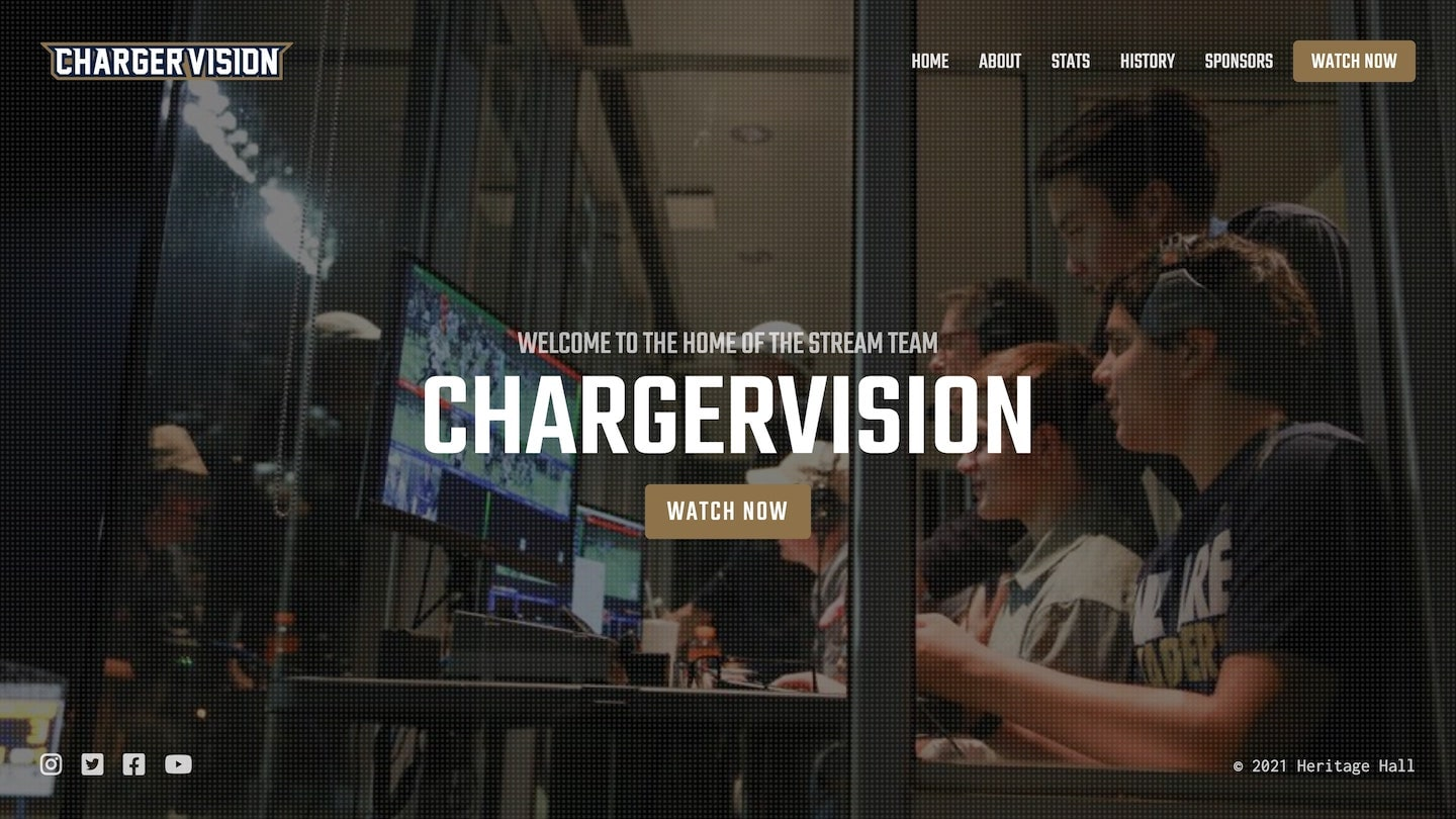 ChargerVision website as designed by Carbon Creative