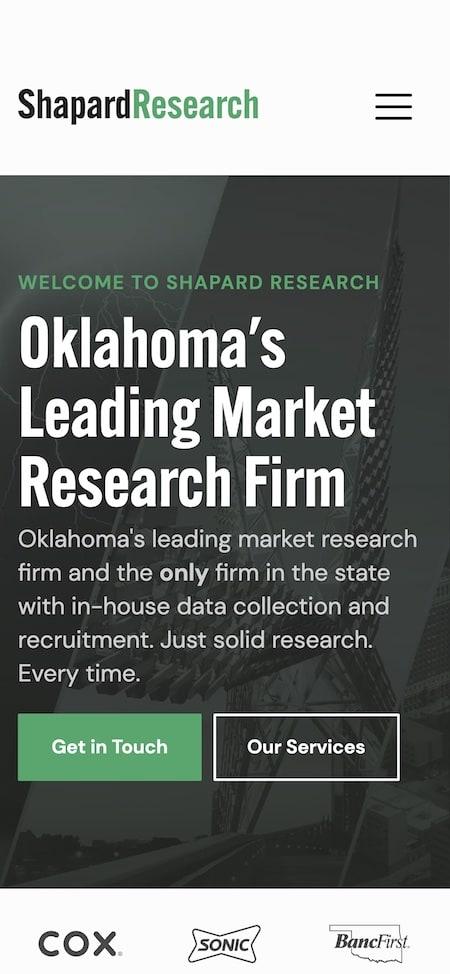 Shapard Research Website