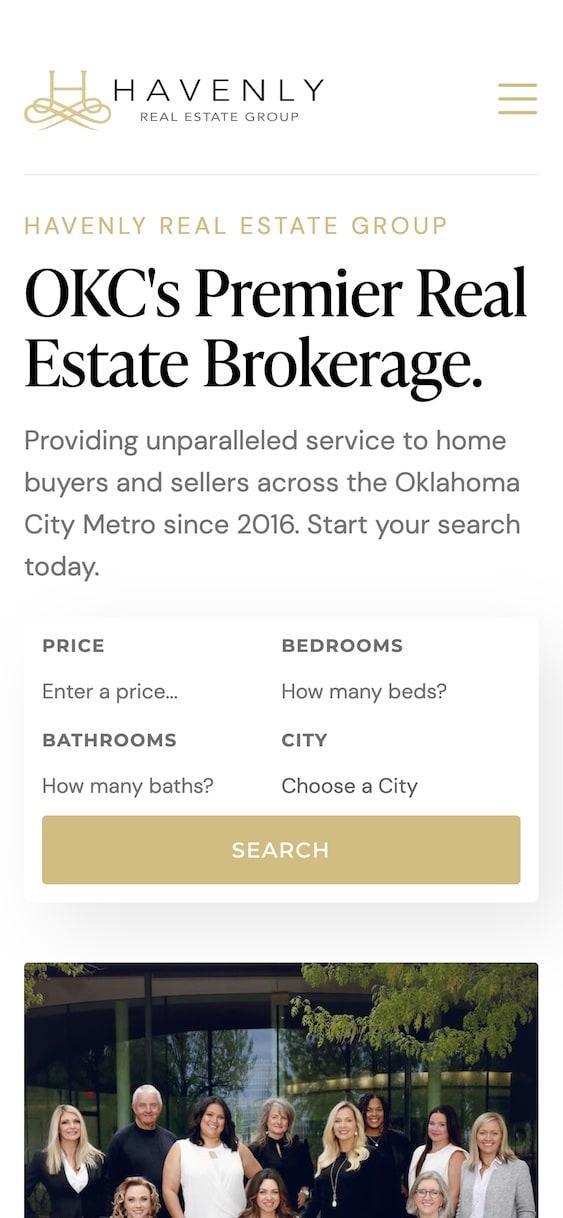 Havenly Real Estate Website