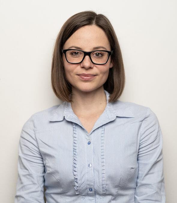 Portrét Terezy Pokorné - Analytičky fondu.