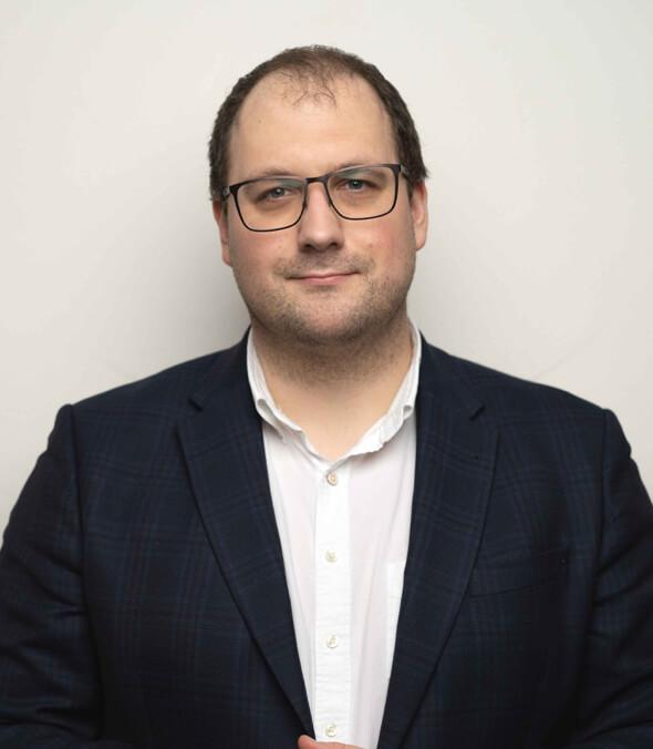 Portrét Ondřeje Záruby - Investičního manažera fondu